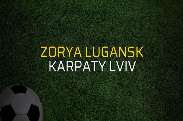 Zorya Lugansk - Karpaty Lviv düellosu