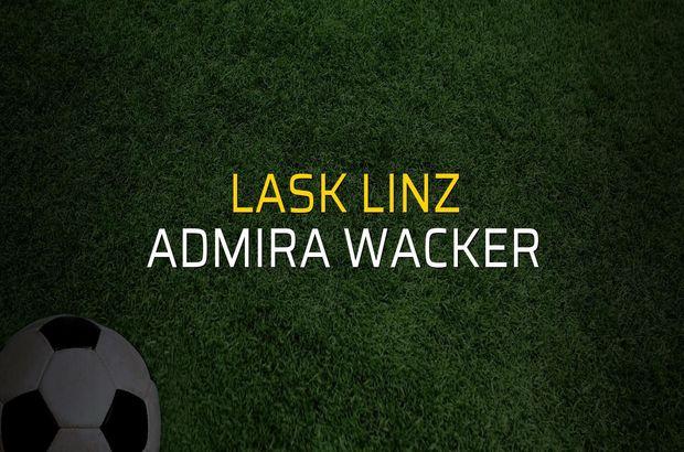 Lask Linz - Admira Wacker maçı heyecanı