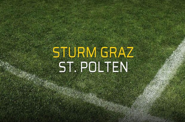 Sturm Graz - St. Polten maçı heyecanı