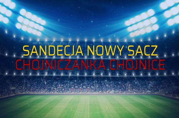 Sandecja Nowy Sacz - Chojniczanka Chojnice sahaya çıkıyor