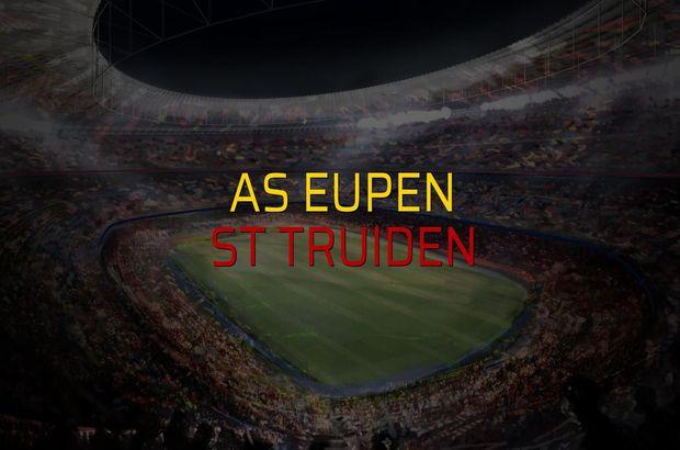 AS Eupen - St Truiden maçı heyecanı