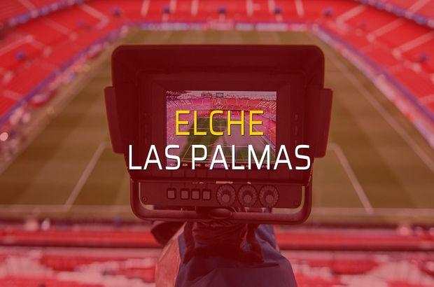 Elche - Las Palmas maçı ne zaman?