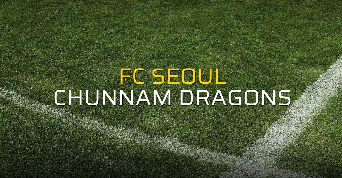FC Seoul - Chunnam Dragons düellosu