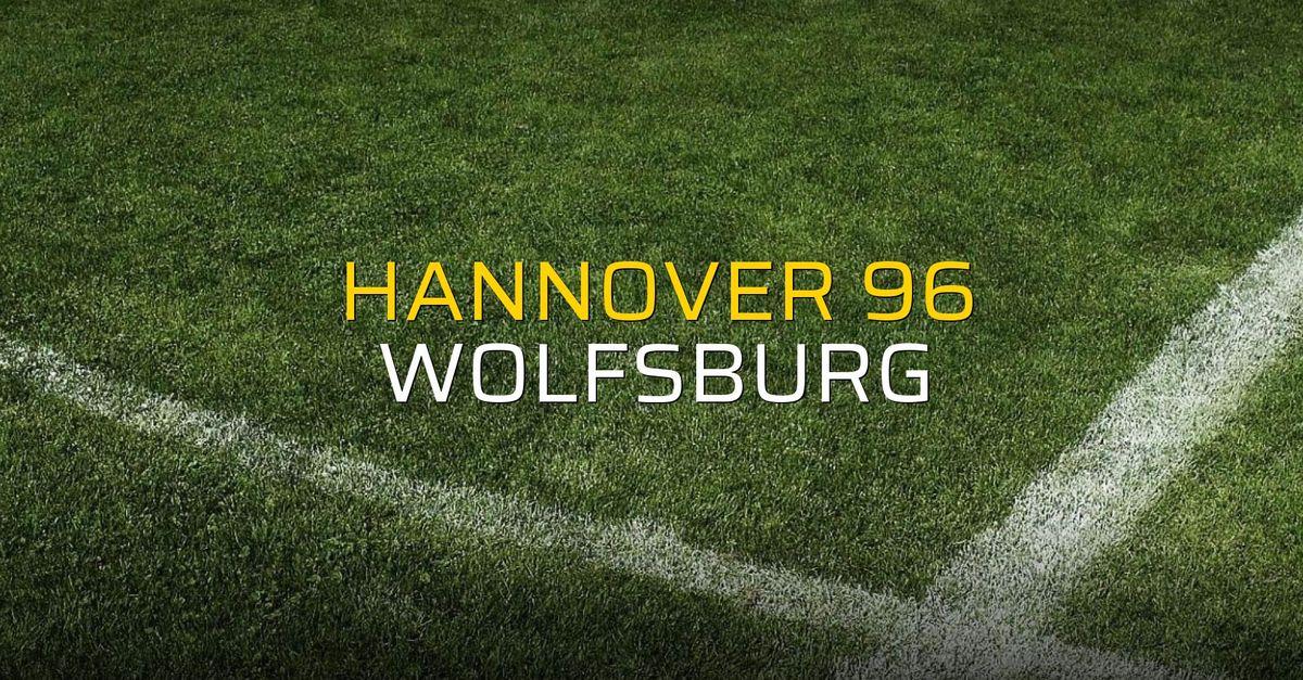 Maç sona erdi: Hannover 96: 2 - Wolfsburg:1