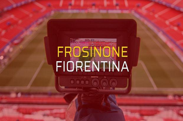 Frosinone: 1 - Fiorentina: 1