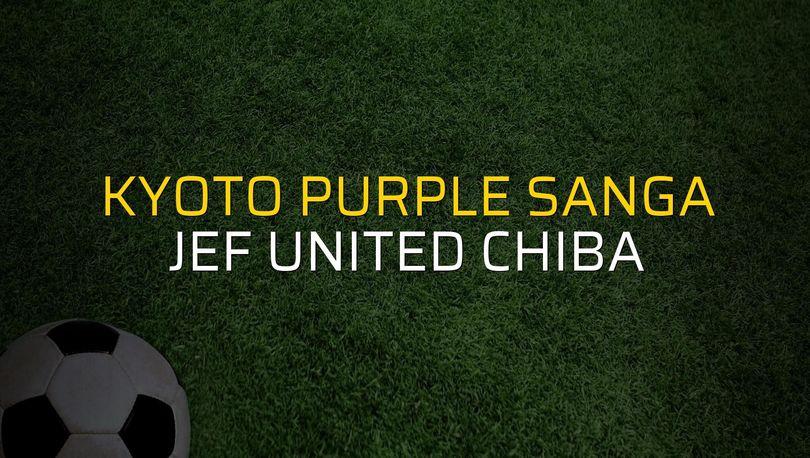 Kyoto Purple Sanga: 0 - JEF United Chiba: 3