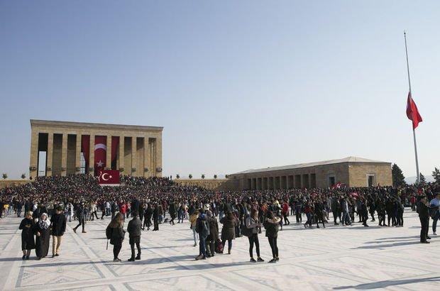 Atatürk ölümünün 80'inci yılında anıldı