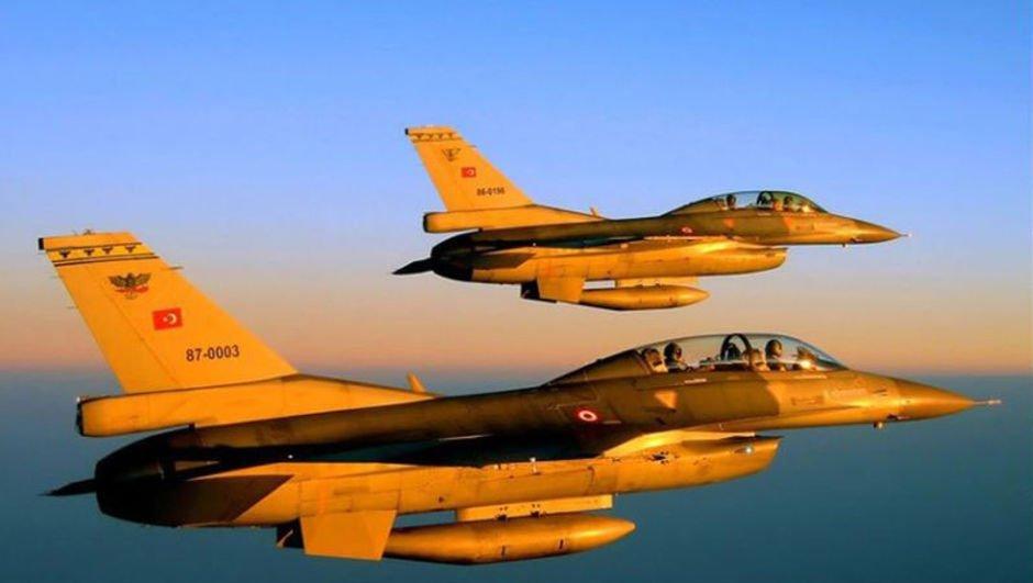 Hava operasyonunda 15 terörist öldürüldü
