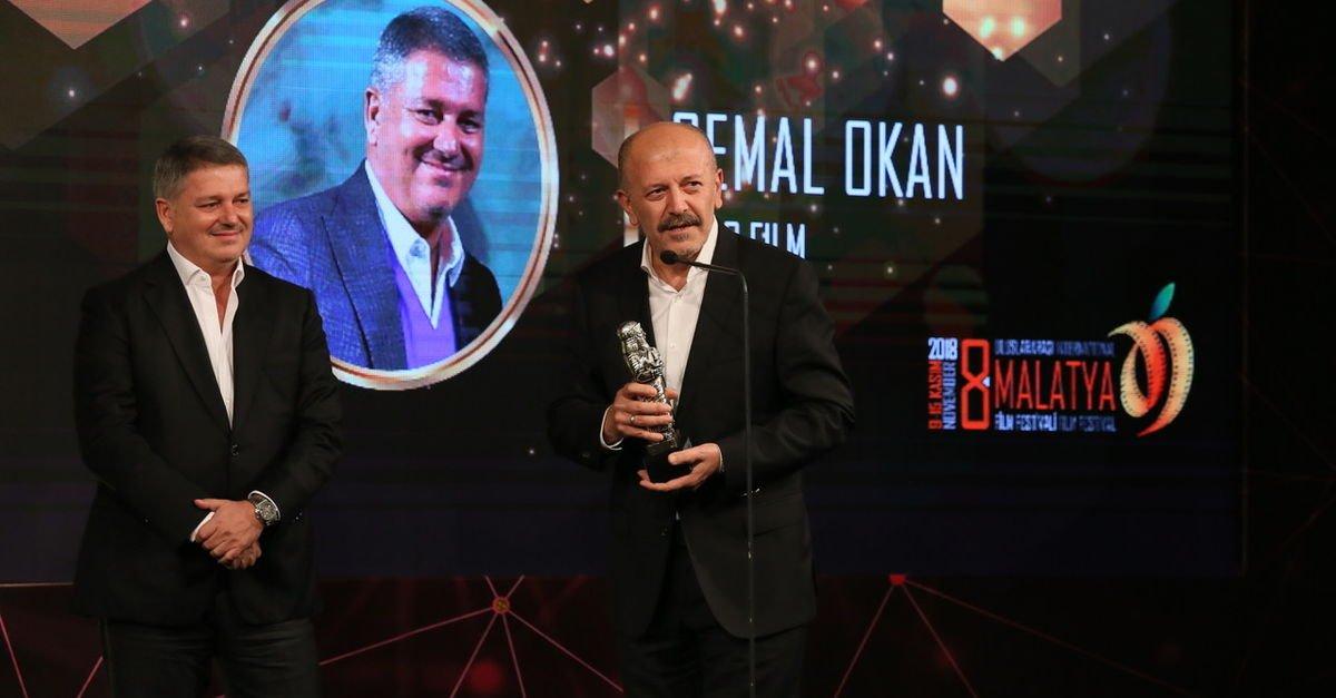 Cemal Okan'a Onur Ödülü verildi