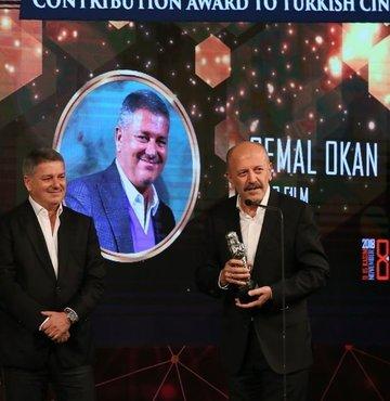 Cemal Okan, Türk sinemasına verdiği katkı nedeniyle Uluslararası Malatya Film Festivali