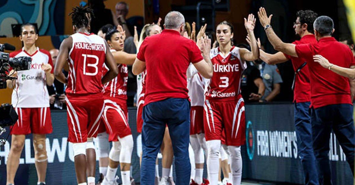 A Milli Kadın Basketbol Takımı'nın kadrosu açıklandı