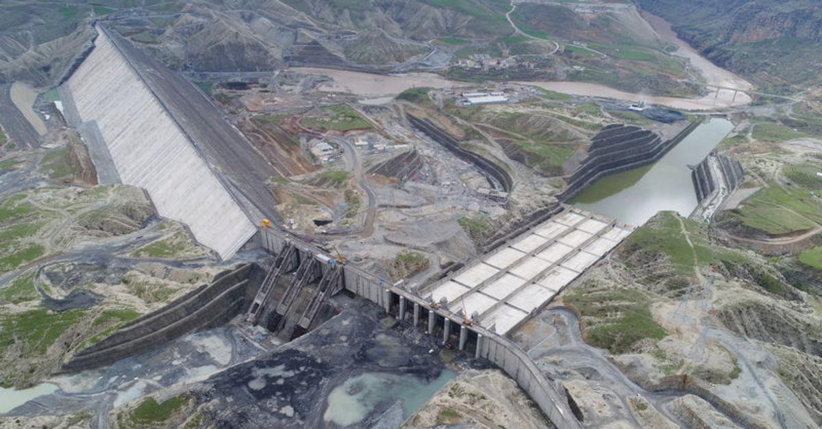 2 dev baraj tamamlanıyor