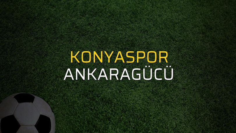 Maç sona erdi: Konyaspor: 2 - Ankaragücü:0