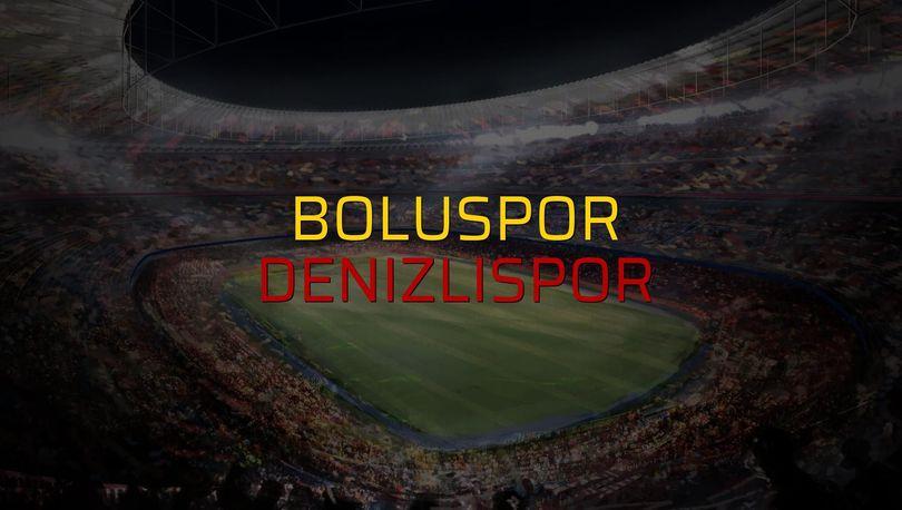 Boluspor: 1 - Denizlispor: 2
