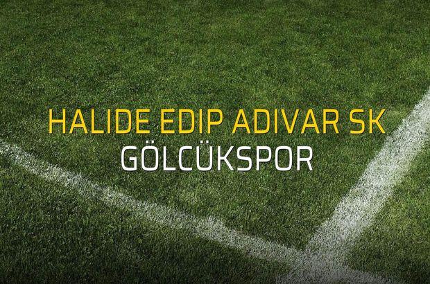 Halide Edip Adıvar SK: 0 - Gölcükspor: 1