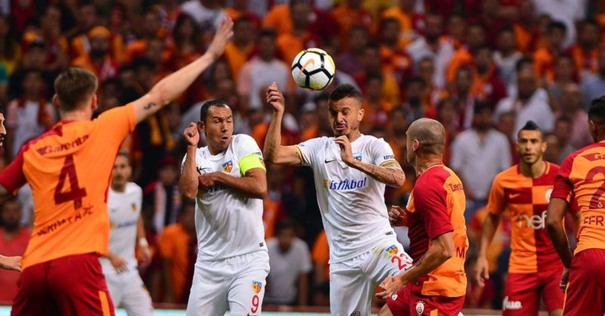 Kayserispor Galatasaray maçı ne zaman saat kaçta?