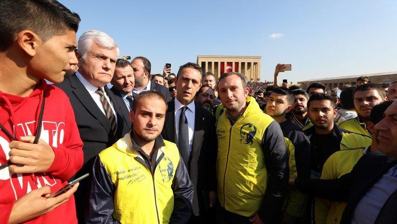 Fenerbahçeliler Ata'nın huzurunda