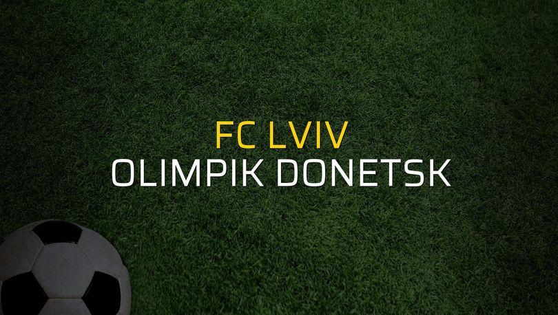 FC Lviv: 1 - Olimpik Donetsk: 1