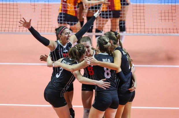 Galatasaray HDI Sigorta - Beşiktaş: 2-3