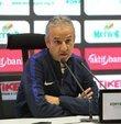 """MKE Ankaragücü Teknik Direktörü İsmail Kartal, Atiker Konyaspor mağlubiyetinin ardından yaptığı açıklamada, """"Bizim tek bir hedefimiz var, iyi futbol oynayıp ligde kalıcı olmak"""" dedi. Kartal, penaltılarının verilmediğini ifade ederken, """"VAR sistemi varsa neden VAR sistemine gidilmedi veya uyarılmadı. Yüzde 100 penaltımız verilmedi"""" diye konuştu"""