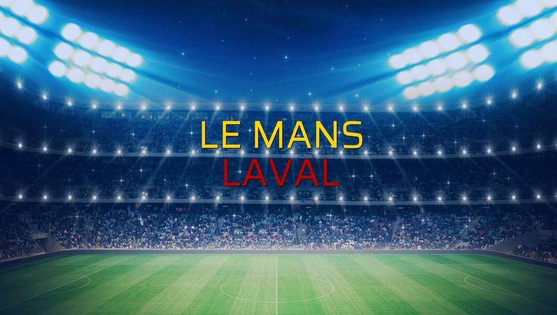 Le Mans: 1 - Laval: 0 (Maç sonucu)