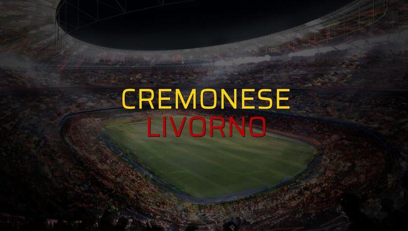 Maç sona erdi: Cremonese: 1 - Livorno:0