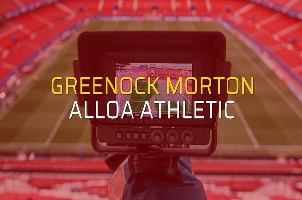 Greenock Morton: 0 - Alloa Athletic: 0 (Maç sonucu)
