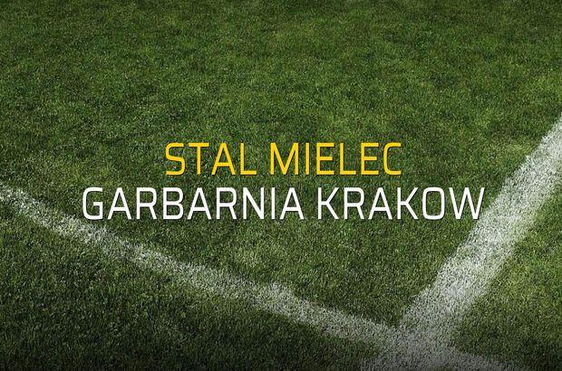 Maç sona erdi: Stal Mielec: 1 - Garbarnia Krakow:0