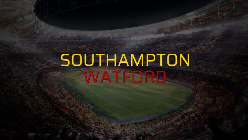 Southampton: 1 - Watford: 1 (Maç sonucu)