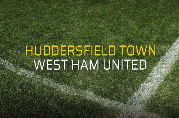 Huddersfield Town: 1 - West Ham United: 1