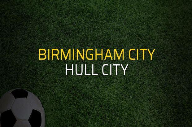 Birmingham City: 2 - Hull City: 3 (Maç sonucu)