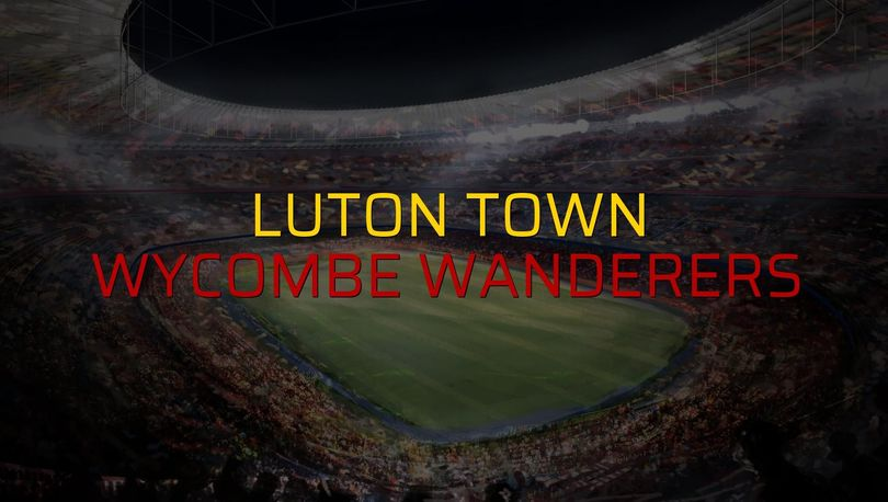 Luton Town: 1 - Wycombe Wanderers: 0 (Maç sona erdi)