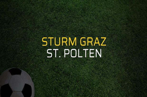 Sturm Graz: 0 - St. Polten: 0 (Maç sonucu)