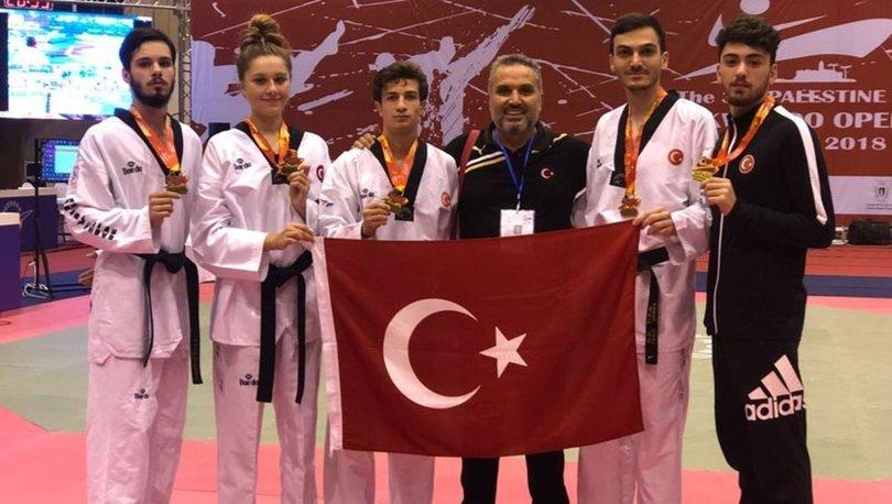 Milli tekvandocular Avrupa Ümitler Tekvando Şampiyonası