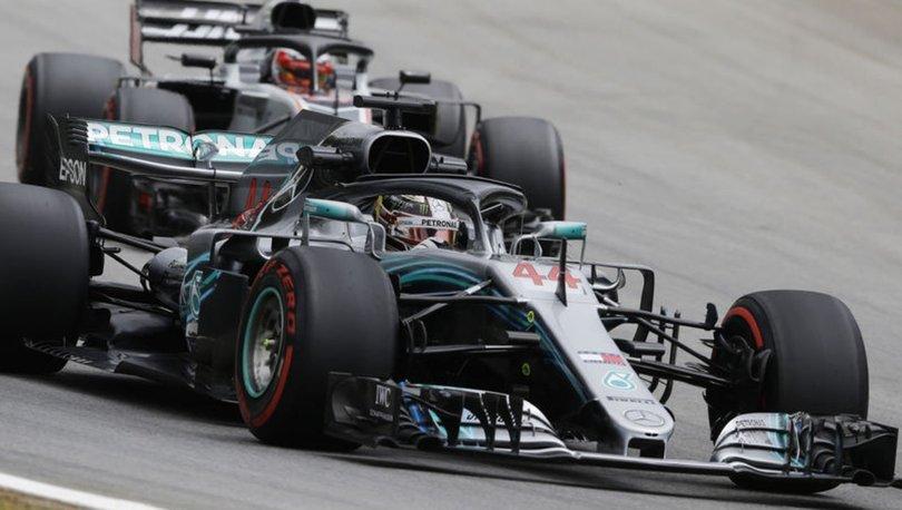 Brezilya Formula 1 Hamilton