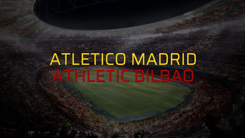 Atletico Madrid: 1 - Athletic Bilbao: 2 (Maç sonucu)