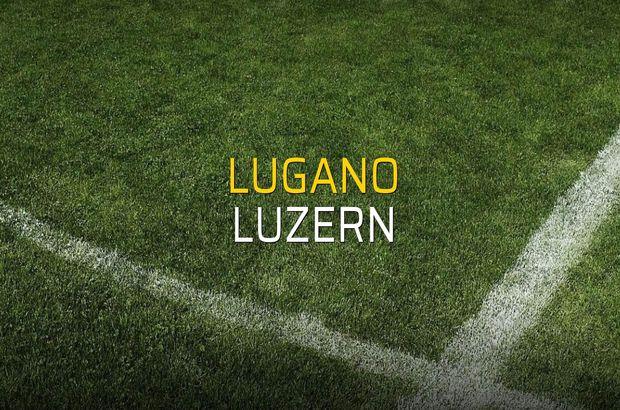 Lugano: 1 - Luzern: 4 (Maç sonucu)