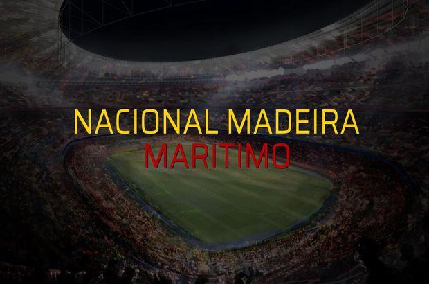 Nacional Madeira: 1 - Maritimo: 0 (Maç sonucu)