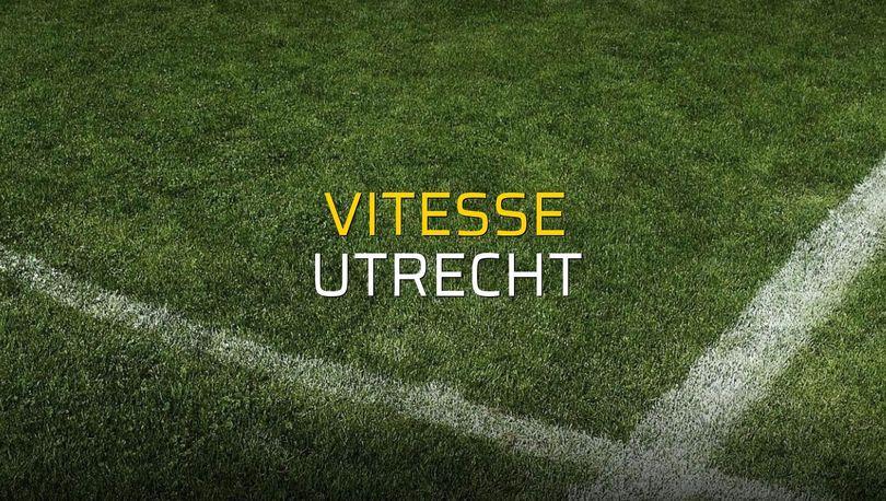 Vitesse: 2 - Utrecht: 1