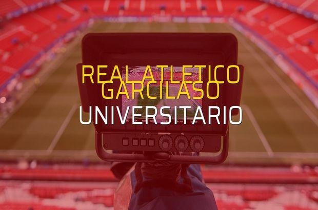 Real Atletico Garcilaso - Universitario karşılaşma önü