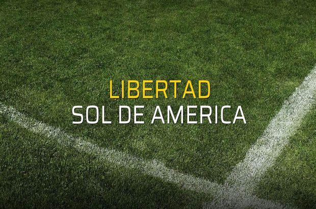 Libertad - Sol de America maç önü