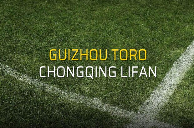 Guizhou Toro - Chongqing Lifan maçı heyecanı