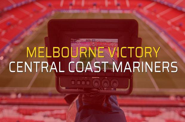 Melbourne Victory - Central Coast Mariners düellosu