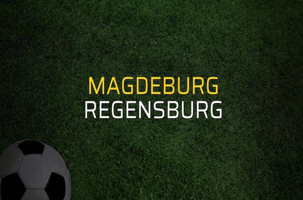 Magdeburg - Regensburg maçı öncesi rakamlar