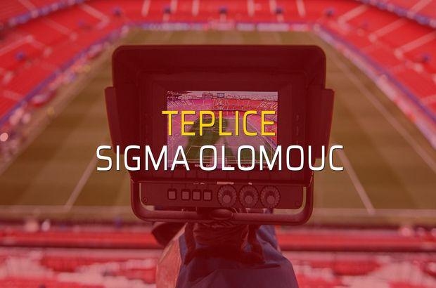 Teplice - Sigma Olomouc düellosu