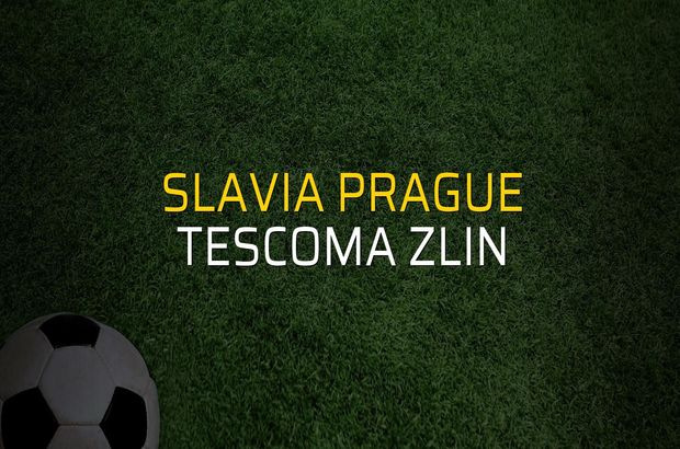 Slavia Prague - Tescoma Zlin maçı istatistikleri