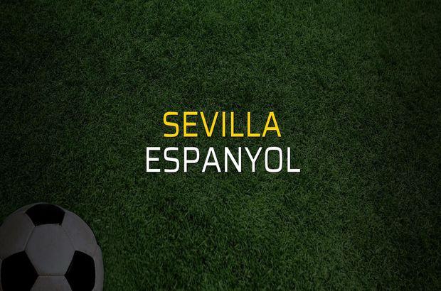 Sevilla - Espanyol maçı istatistikleri