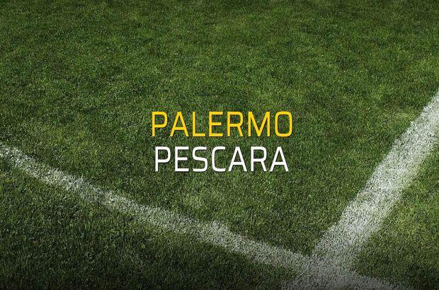 Palermo - Pescara rakamlar