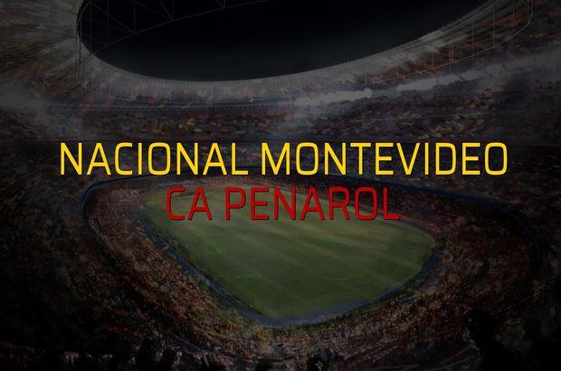 Nacional Montevideo - CA Penarol sahaya çıkıyor