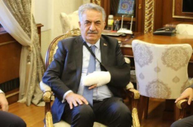 AK Partili Hayati Yazıcı trafik kazası geçirdi